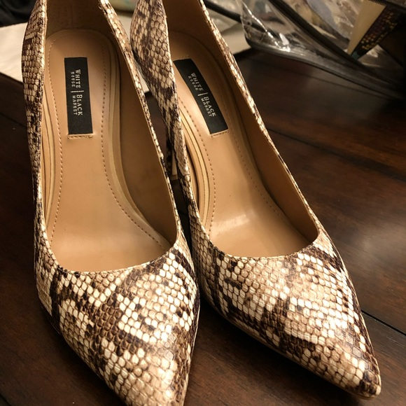 White House Black Market Shoes - Shoes, worn once